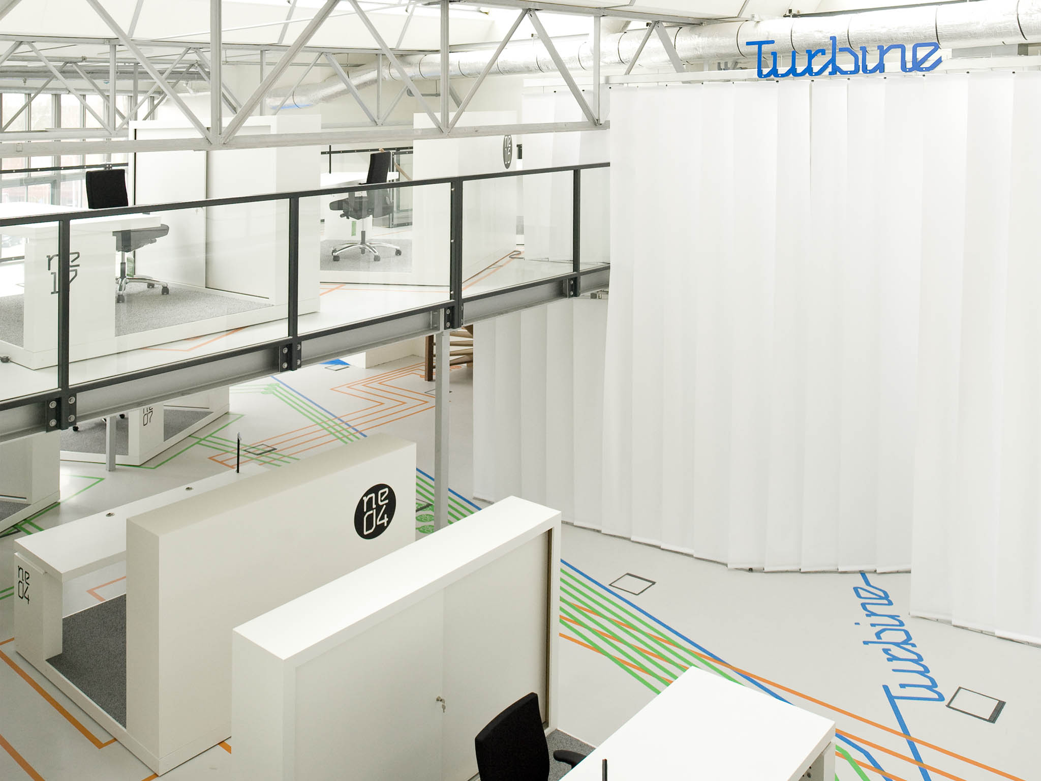 Studio Überdutch - interior design - Turbine Leiden